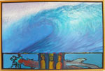 Painting: Easter Island Wave