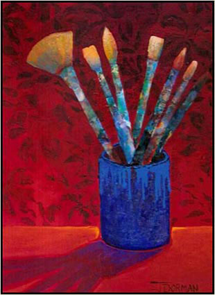 Painting: Paint Brush Study 1