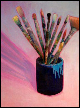 Painting: Paint Brush Study 2