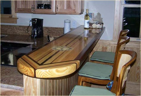 Bar Top Ideas For Kitchen